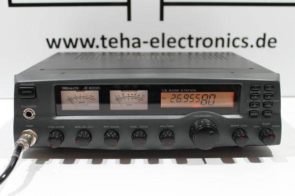 Albrecht AE 8000 Frequenzerweitert & Mods - Messplatz getestet