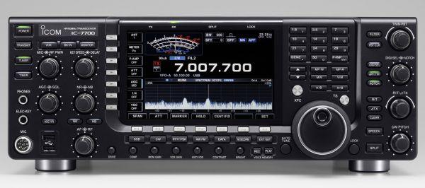 ICOM 7700 - All Mode DSP-Spitzen-Transceiver, HF/6m mit AT, 200 Watt - RX 30 kHz - 60 MHz
