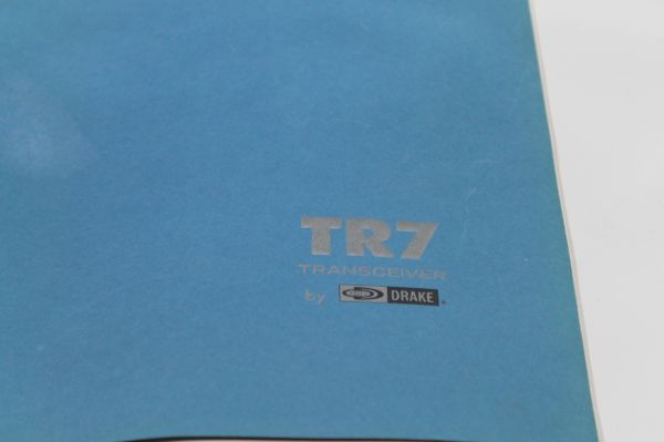 Drake TR 7 Bedienungsanleitung