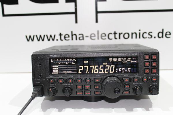 Yaesu FT 450 incl. Frequenzerweiterung - Messplatz getestet