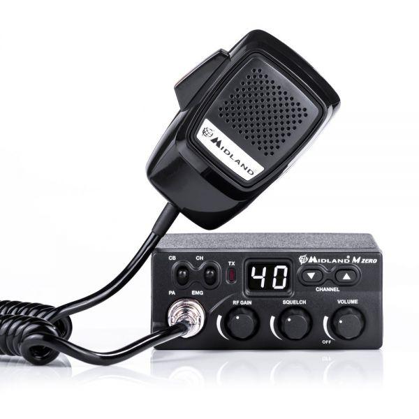 MIDLAND M Zero Plus 40 Kanal AM/FM 4 Watt CB Funkgerät