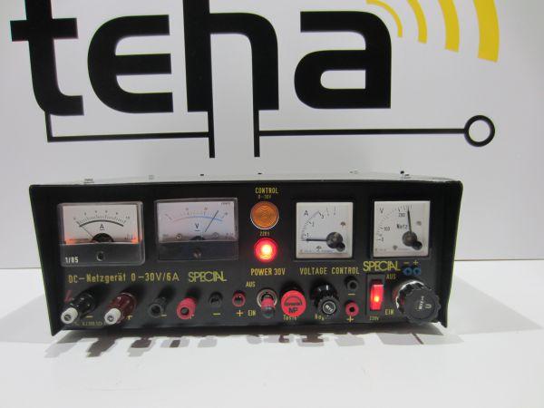 Gossen 0 - 30 Volt 6 Ampere regelbares Labornetzteil - getestet