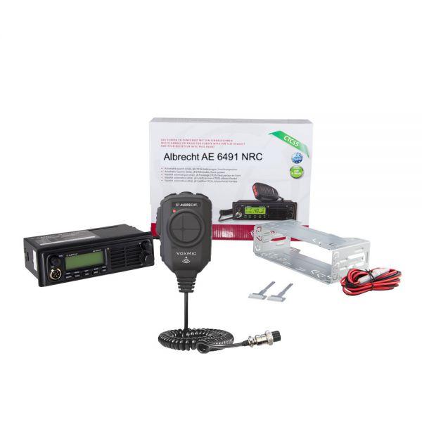 Albrecht AE 6491 NRC inkl. VOX Mikrofon mit ANC