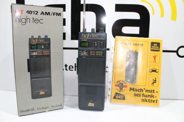 DNT HT 4012 AM/ FM CB Handfunkgerät in OVP getestet TOP