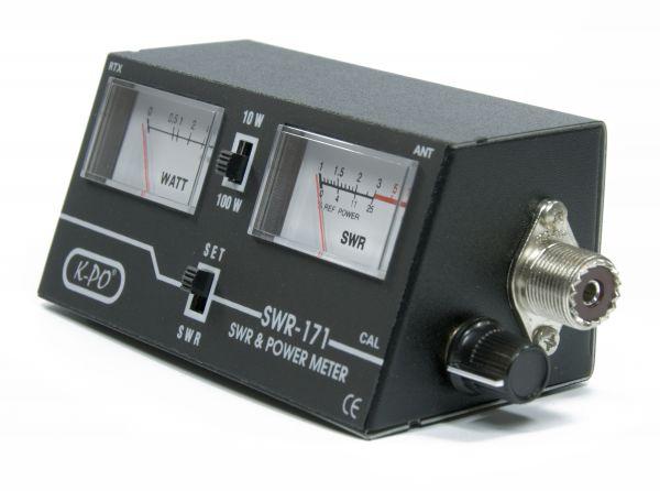 K-PO SWR-171 SWR & Power Meter 26-30 MHz