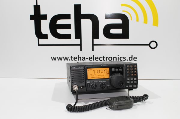 Icom IC-718 Messplatz getestet absolut TOP!