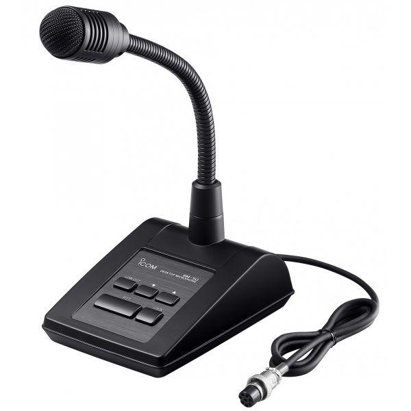 Icom SM-50 Tischmikrofon der Luxusklasse