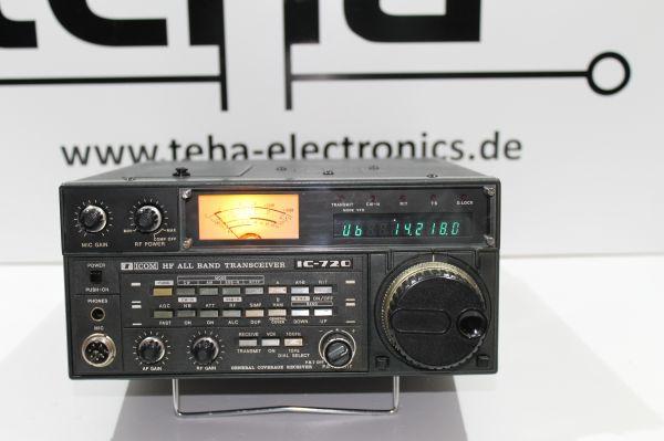 Icom 720 A - Teildefekt voll Funktionsfähig