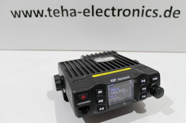 CRT Micron U/V 2m / 70cm Dualband erweitert auf 136 - 174 MHz / 400 - 490 MHz - Teha-Mod -