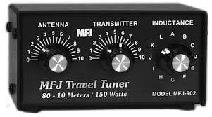 MFJ-902B Kompakt-Tuner