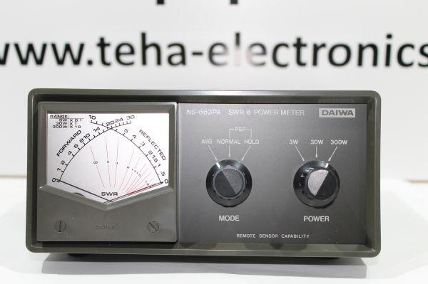 Daiwa NS - 663 PA SWR & Powermeter 140 - 525 MHz in OVP -