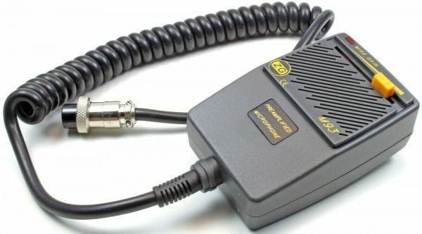 ZETAGI M-93 VV-Handmikrofon mit 4-poligem Stecker