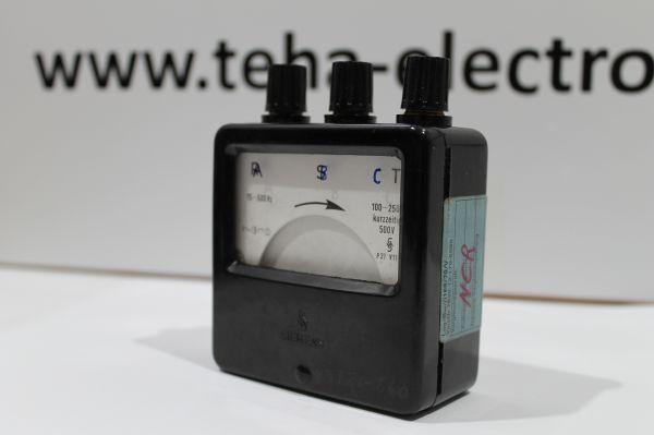 Siemens Strom / Spannungs Messgerät aus BW Bestand