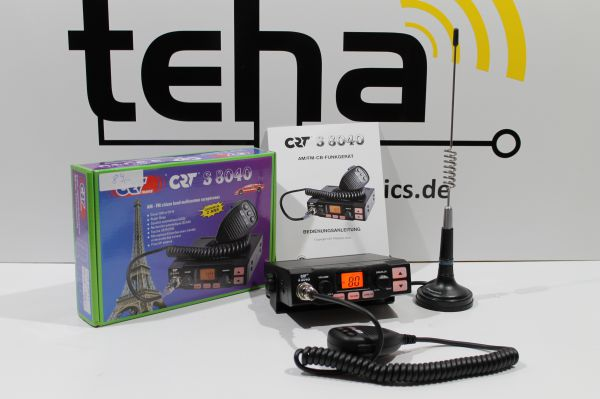 Funkset CRT S 8040 kpl. mit Antenne 8 Watt ! NEU OVP