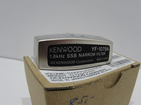 Kenwood YF-107SN Original SSB Filter Neu OVP