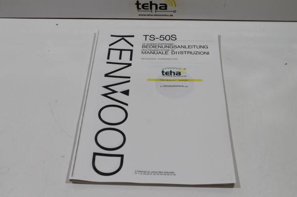 Kenwood TS 50 Bedienungsanleitung in Deutsch