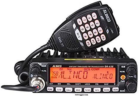 ALINCO DR-638-HE inkl. PMR & Freenet UHF / VHF Funkgerät