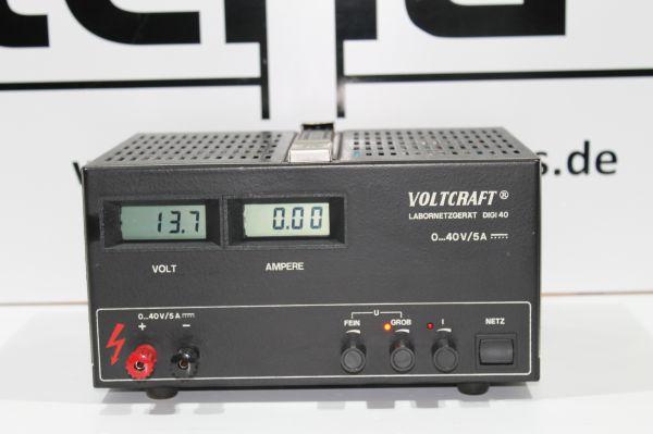 Voltcraft Digi 40 stabilisiertes Labornetzteil - getstet TOP