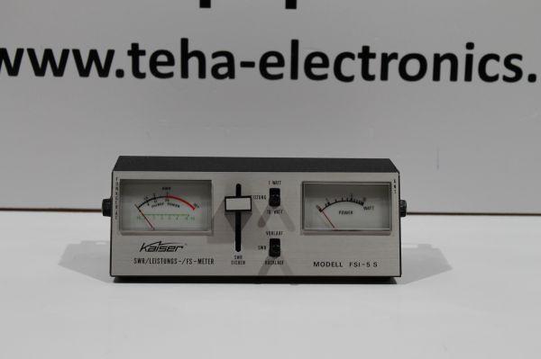 Kaiser FSI-5 S - SWR & Powermeter getestet TOP in OVP