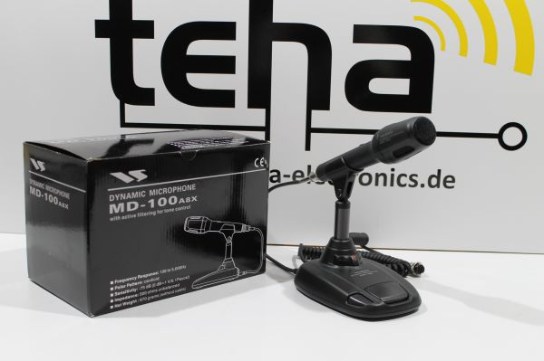 Yaesu MD 100 A8X Tischmikrofon