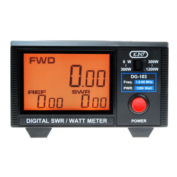 K-PO DG-103N SWR - Watt-Meter digital 1200 WATT