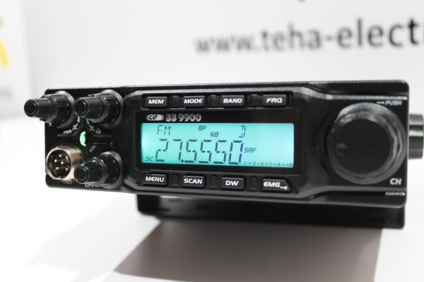 CRT SS 9900 ! 85 Watt ! High Performance Transceiver incl. Mods