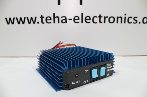 RM KL-203 Endstufe 20-30 MHz 100/200 W Neu OVP