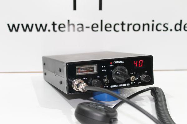 Super Star 95 - 15 Watt - CB Exportgerät - Messplatz getestet