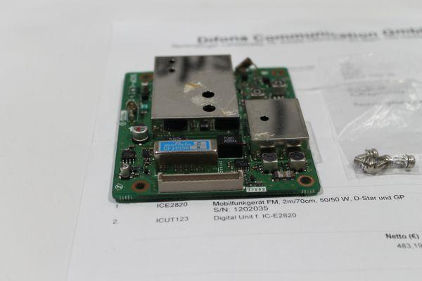 Digital Unit für Icom IC - E 2820 gebraucht - getestet !