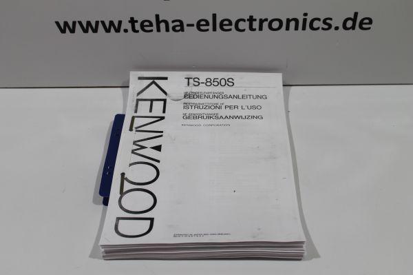 Kenwood TS 850S Bedienungsanleitung in Deutsch