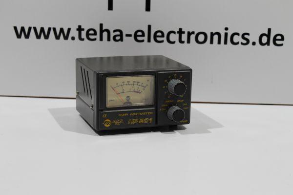Zetagi HP 201 SWR -Wattmeter - 2000 Watt Top - getestet