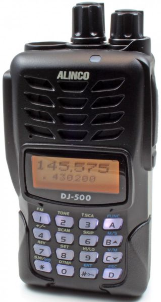 ALINCO DJ-500-E Handfunkgerät VHF/UHF inkl. Freenet & PMR