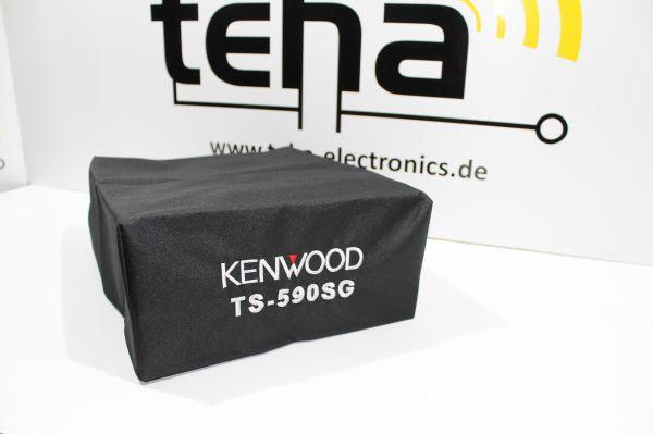 Kenwood TS 590 SG Staubschutzhülle - hochwertig bestickt - Made in EU