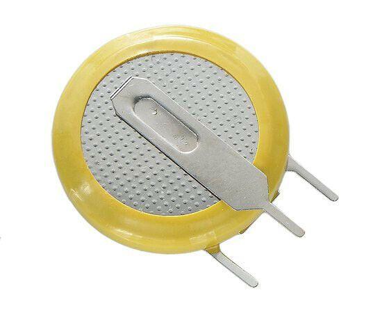 BackUp Batterie mit Lötfahne 3 V 210 mA