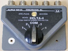 Alpha DELTA - 4B PL Antenneumschalter 2 KW
