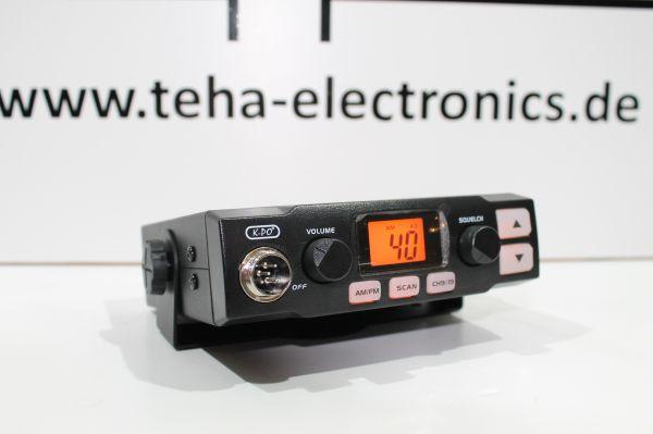 K-PO K-500 CB Mobilfunkgerät Multinorm mit Up/Down Mikrofon