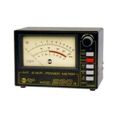 Zetagi SWR 230 SWR & Wattmeter für 2-30 MHz und bis 1000 Watt