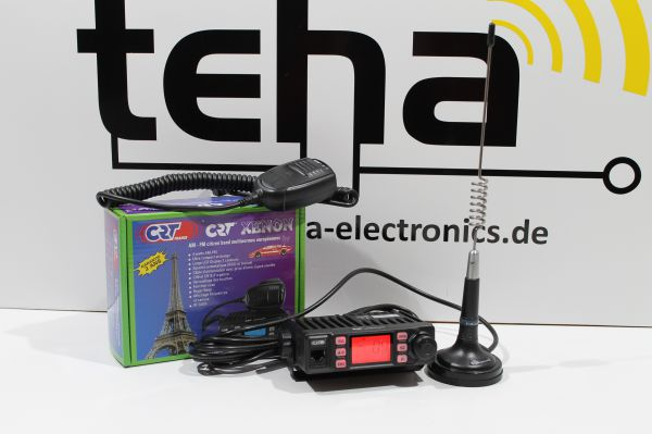 "CB Funkset CRT XENON mit Antenne "" Plug in Play"""