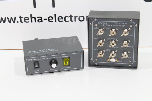 Amplitec SW3000-8 Antenna Switch 3000 Watt für 8 Antennen
