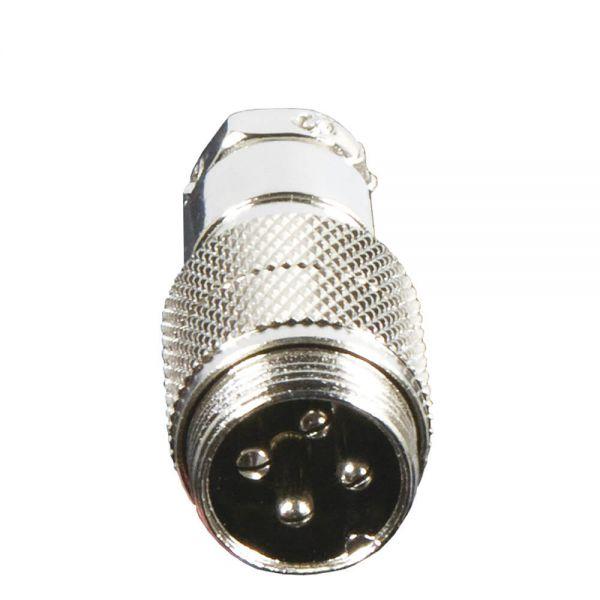 4-pol. Mikrofonkupplung NC 526
