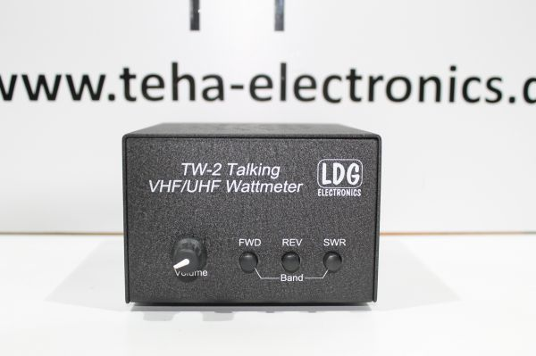 LDG TW- 2 Talkin Wattmeter VHF / UHF getstet TOP