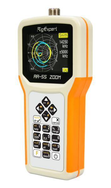 Rig Expert RA-55 ZOOM -Bluetooth Option Antennen - Analyzer mit Farbdisplay