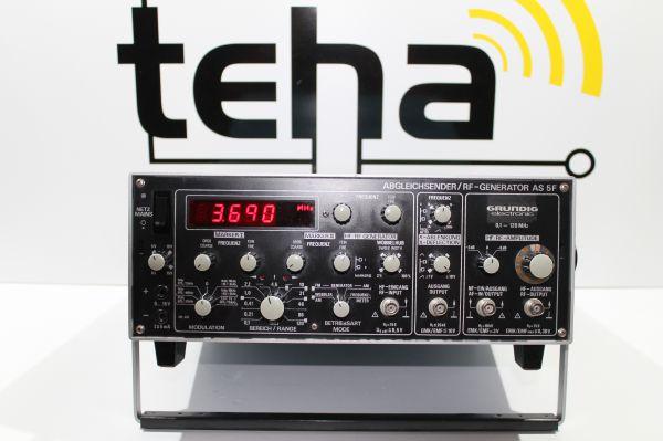 Grundig Abgleichsender AS 5 F 100 KHz - 120 MHz
