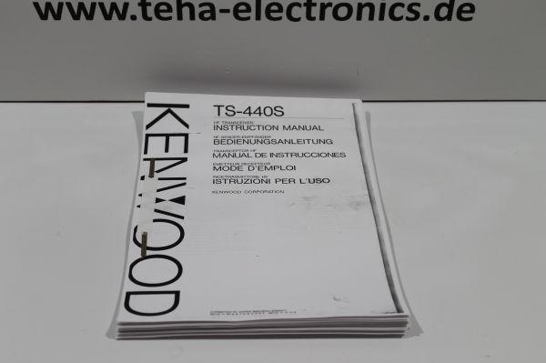 Kenwood TS -440S Bedienungsanleitung in Deutsch