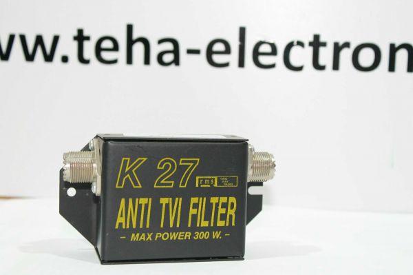 K 27 Anti TVI Filter 300 Watt