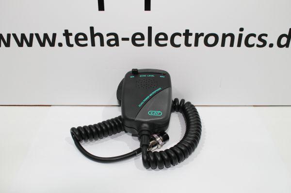 KPO NM-452 Electret / Echo Handverstärkermikrofon GDCH 6 Pol
