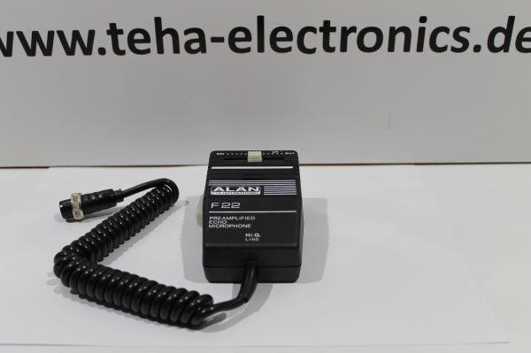Alan F22 Elektret Hand - Verstärkermikrofon Top Perfomance