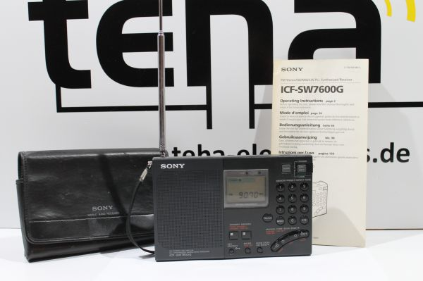 Sony ICF SW 7600 G Weltempfänger getestet TOP