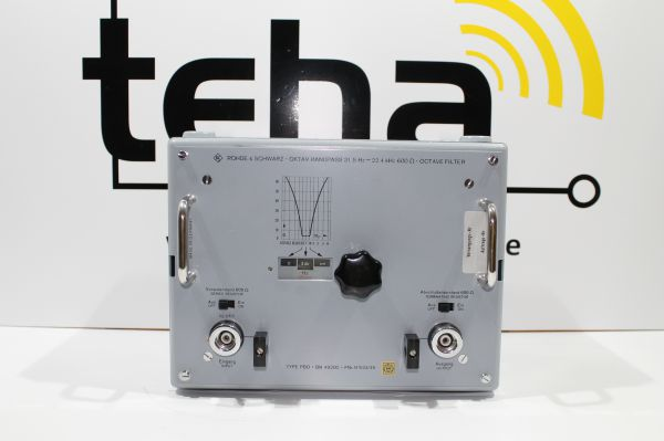 Rohde & Schwarz Oktav Bandpass 31.5 Hz - 22.4 KHz Neuwertig