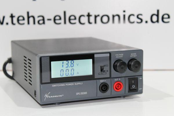 Sadelta -2030D - 30 Amp. Schaltnetzteil für Funkanwendungen